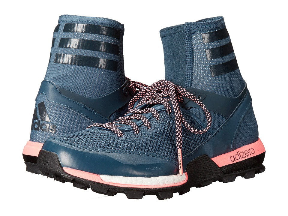 adidas Outdoor - adizero XT BOOST (Mineral Blue/Night Navy/Sun Glow) Women's Shoes