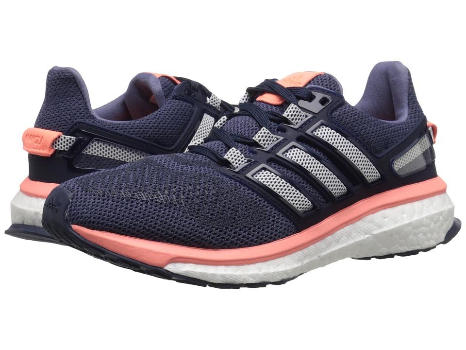 adidas Running - Energy Boost 3 W (Super Purple/White/Sun Glow) Women's Running Shoes