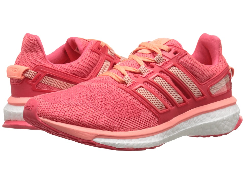 adidas Running - Energy Boost 3 W (Sun Glow/Halo Pink/Shock Red) Women's Running Shoes