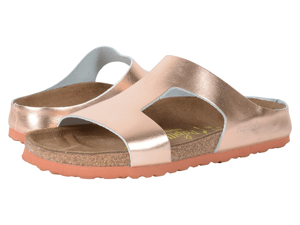Birkenstock - Charlize (Metallic Copper Leather) Women's Dress Sandals