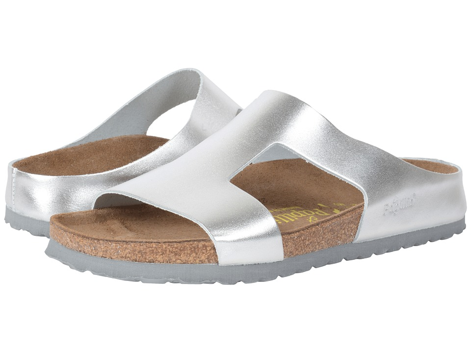 Birkenstock Charlize (Metallic Silver Leather) Women