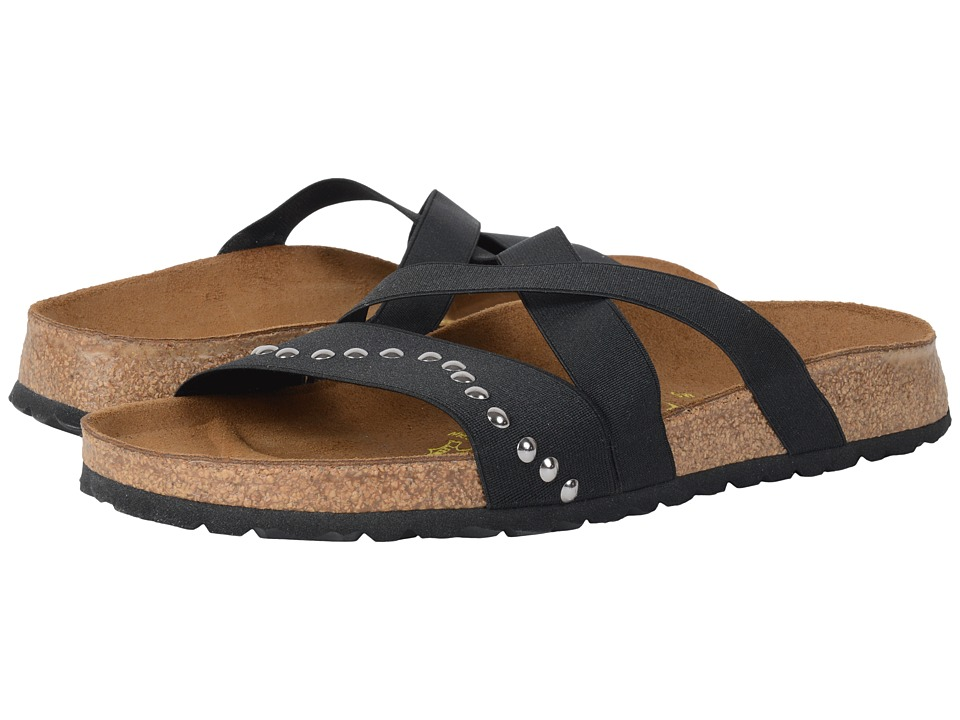 Birkenstock - Cosma (Wave Black Stretch) Women's Dress Sandals