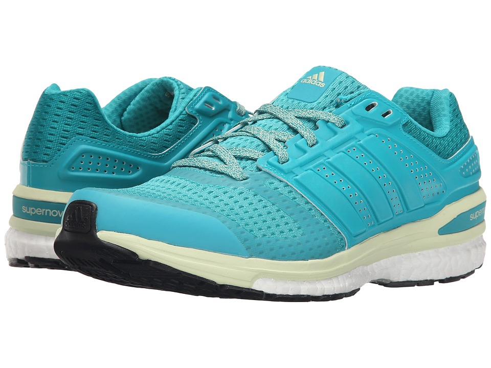 adidas Running - Supernova Sequence 8 W (Shock Green/Halo) Women's Running Shoes
