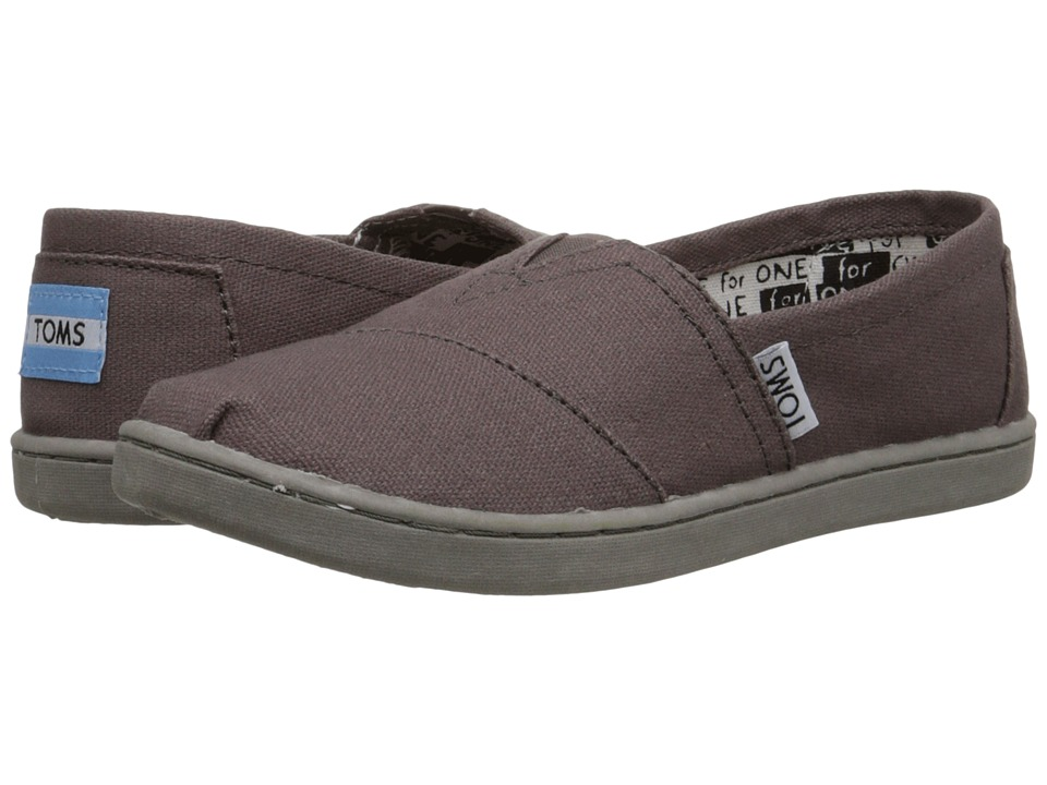 TOMS Kids - Classics (Little Kid/Big Kid) (Ash Canvas) Kids Shoes