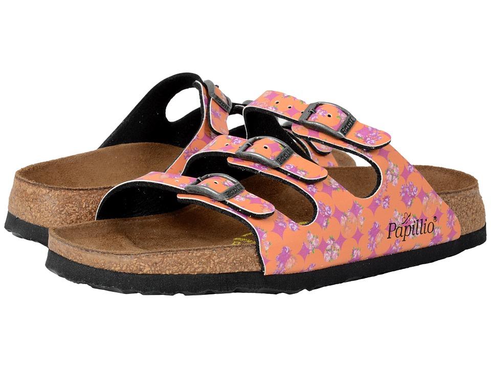 Birkenstock - Florida (Floral Circles Pink Birko-Flor ) Sandals