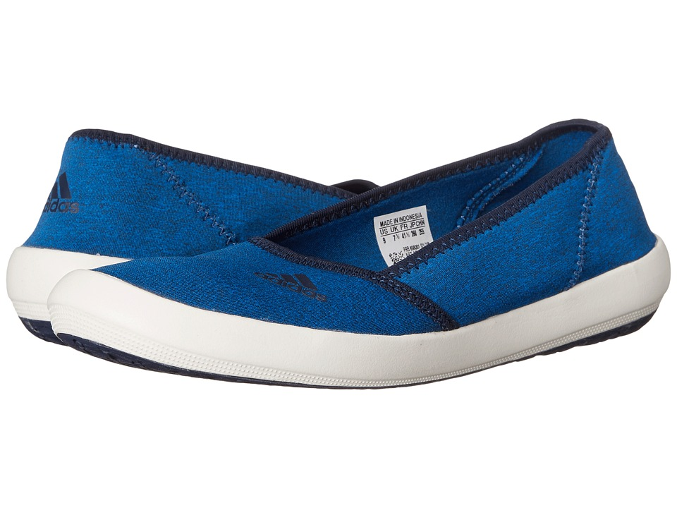 adidas Outdoor - Boat Slip-On Sleek (Shock Blue/Collegiate Navy/Chalk White) Women's Shoes