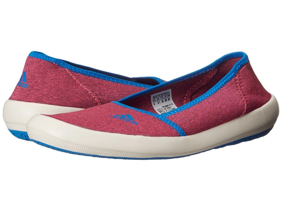 adidas Outdoor - Boat Slip-On Sleek (Super Blush/Chalk White/Shock Blue) Women's Shoes