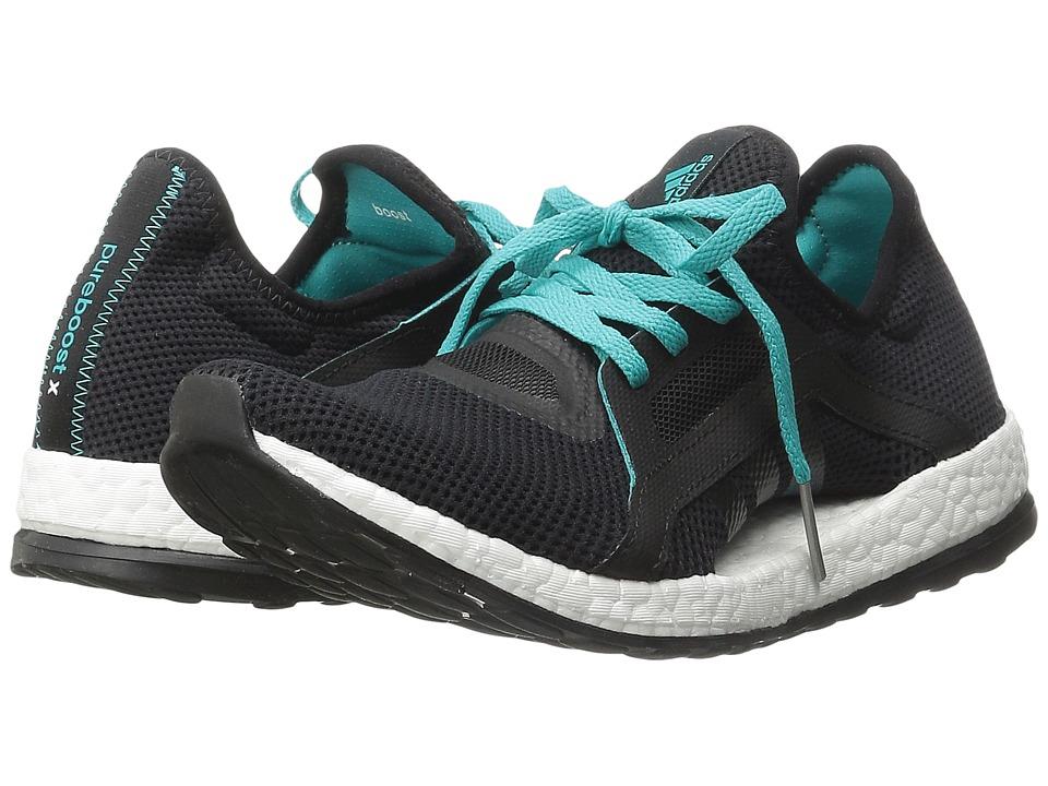 adidas Running Pureboost X W (Black/Shock Green) Women