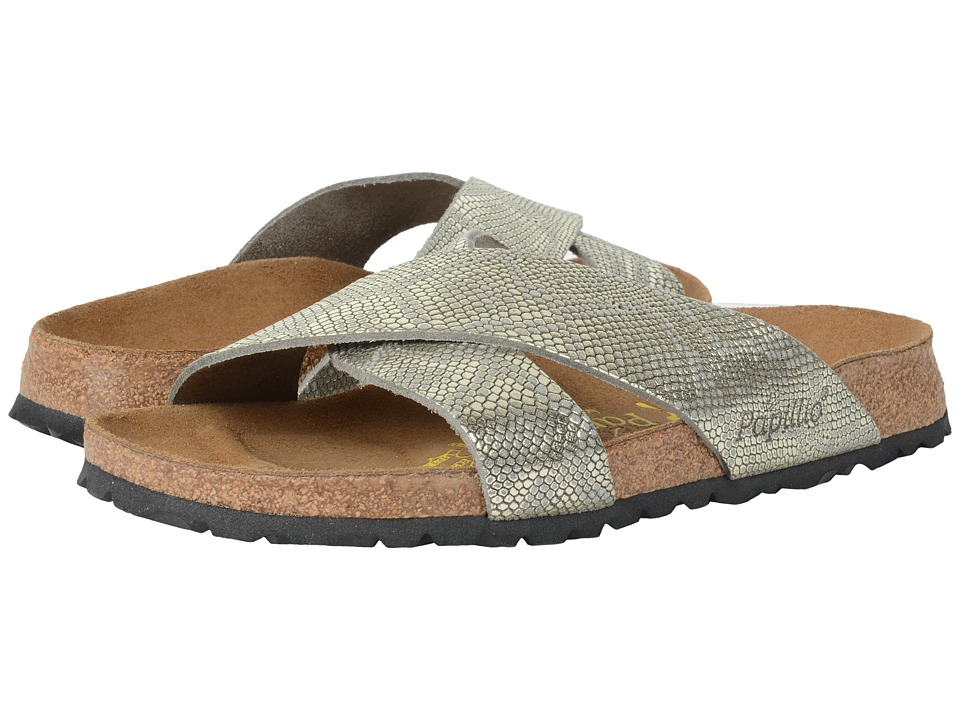 Birkenstock Daytona (Royal Python Grey Leather) Sandals