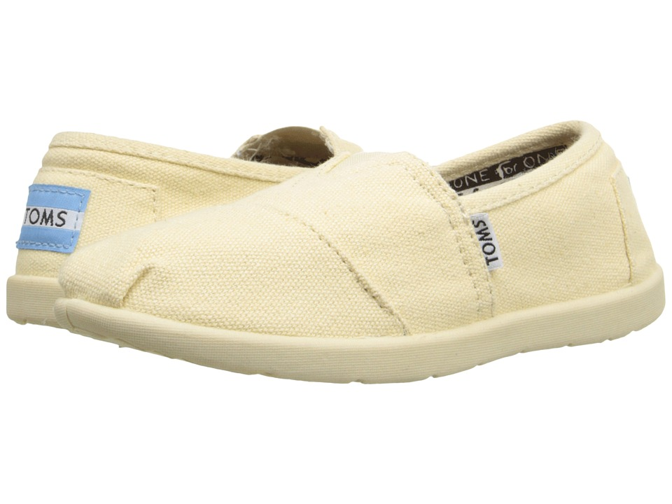 TOMS Kids - Classics (Little Kid/Big Kid) (Natural Canvas) Kids Shoes