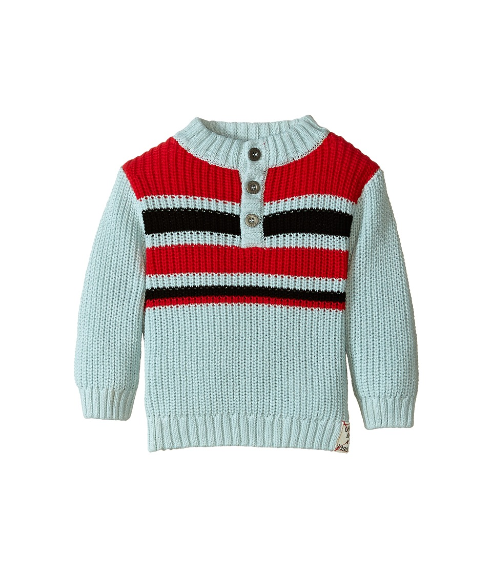 Pumpkin Patch Kids - Street Warrior Striped Jumper (Infant) (Pigeon) Boy