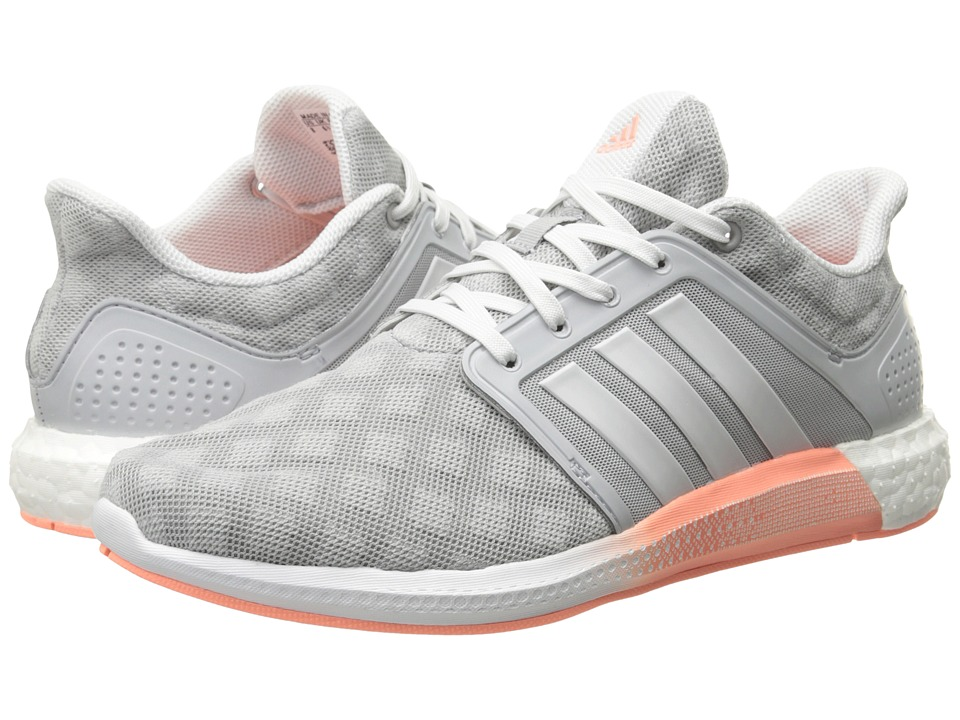 adidas - Solar Boost W (Clear Onix/Crystal White/Halo Pink) Women's Running Shoes