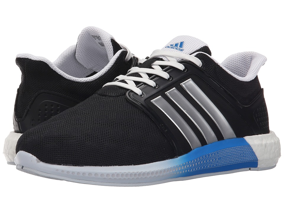 adidas - Solar Boosttm W (Black/Crystal White/Halo Blue) Women's Running Shoes