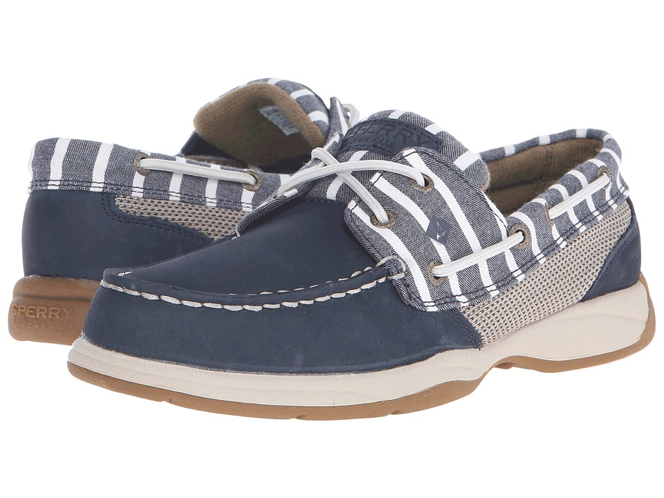 Sperry Top-Sider - Intrepid Seasonal (Navy/Navy Stripe) Women's Shoes