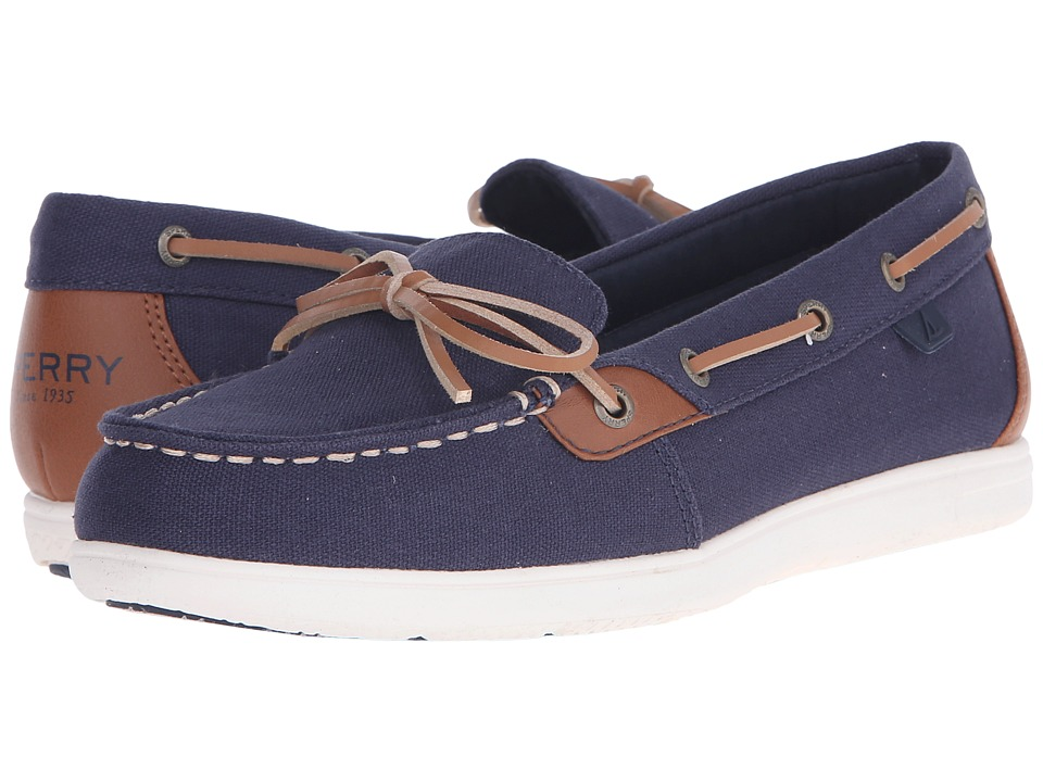 Sperry - Shore Path (Navy/Tan) Women's Shoes