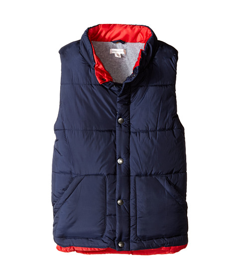 Pumpkin Patch Kids - Zip-Up Puffer Vest (Little Kids/Big Kids) (Blue Night) Boy's Vest