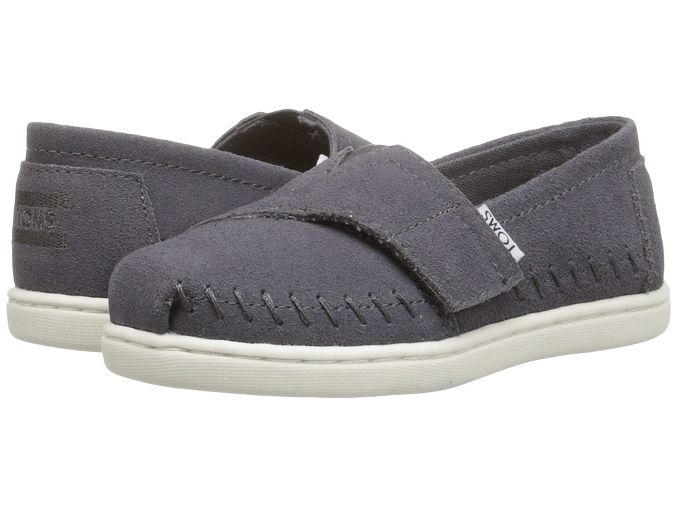 TOMS Kids - Seasonal Classics (Infant/Toddler/Little Kid) (Ash Suede) Kids Shoes