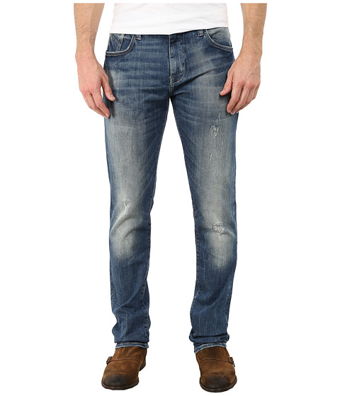 Mavi Jeans - Jake Jeans in Deep White Edge (Medium Blue) Men