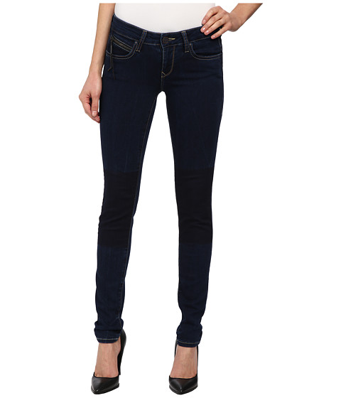 Mavi Jeans - Serena Indigo Patch Out Jeggings (Dark Blue) Women's Casual Pants