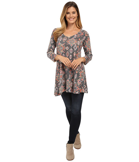 Nally & Millie - Tribal Printed Tunic (Multi) Women's T Shirt