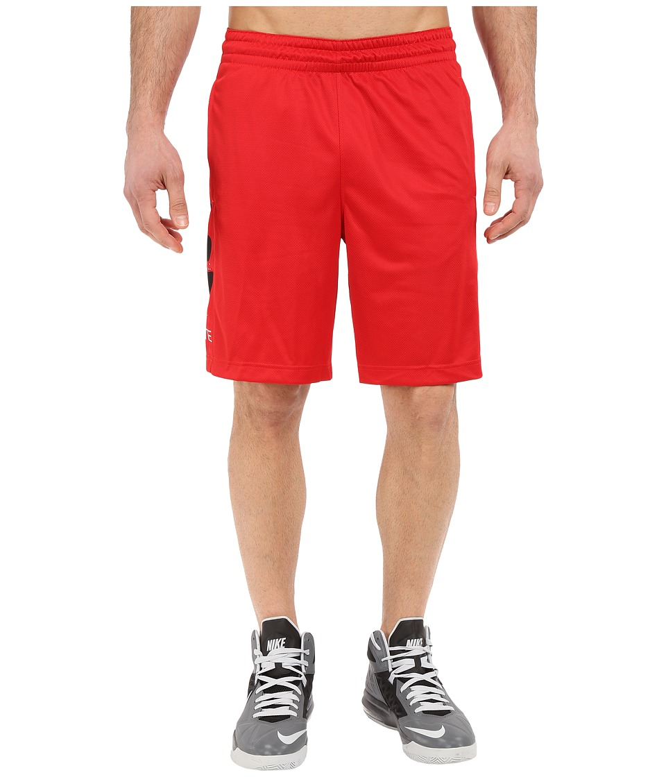 Nike - Elite Stripe Short (University Red/Black/University Red/Black) Men's Shorts
