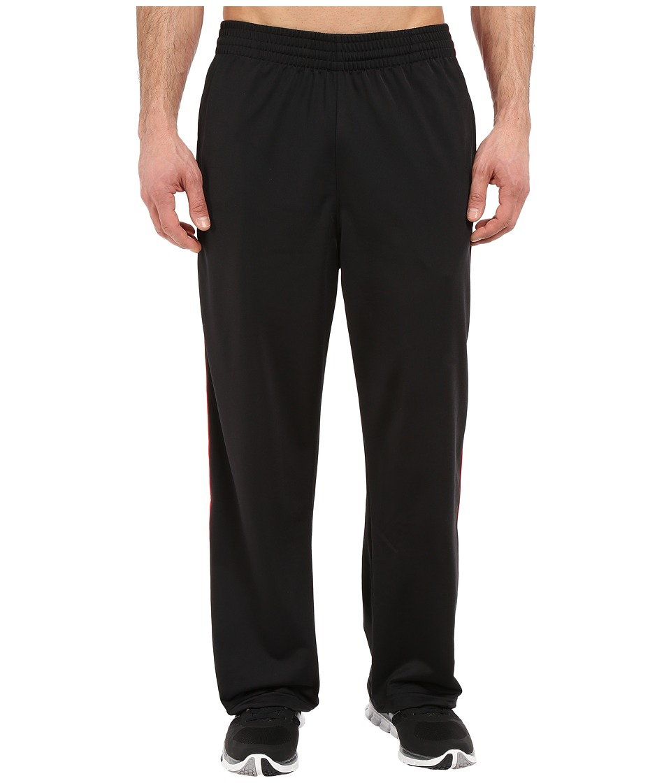 adidas - 3-Stripes Pant (Black/Scarlet/Scarlet) Men