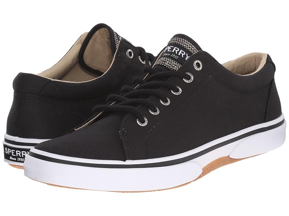 Sperry - Halyard LTT (Black) Men's Shoes