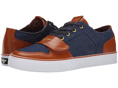 Creative Recreation - Cesario Lo XVI (Brown/Denim) Men's Lace up casual Shoes