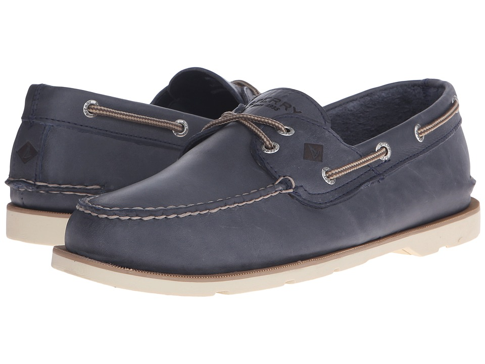 Sperry Top-Sider Leeward 2-Eye Cross Lace (Navy) Men