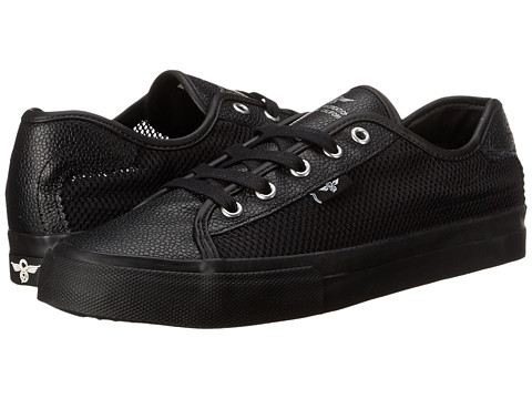 Creative Recreation - Kaplan (Black/Mesh) Men's Lace up casual Shoes