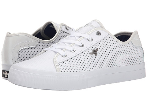 Creative Recreation - Kaplan (White/Royal/Perforated) Men's Lace up casual Shoes