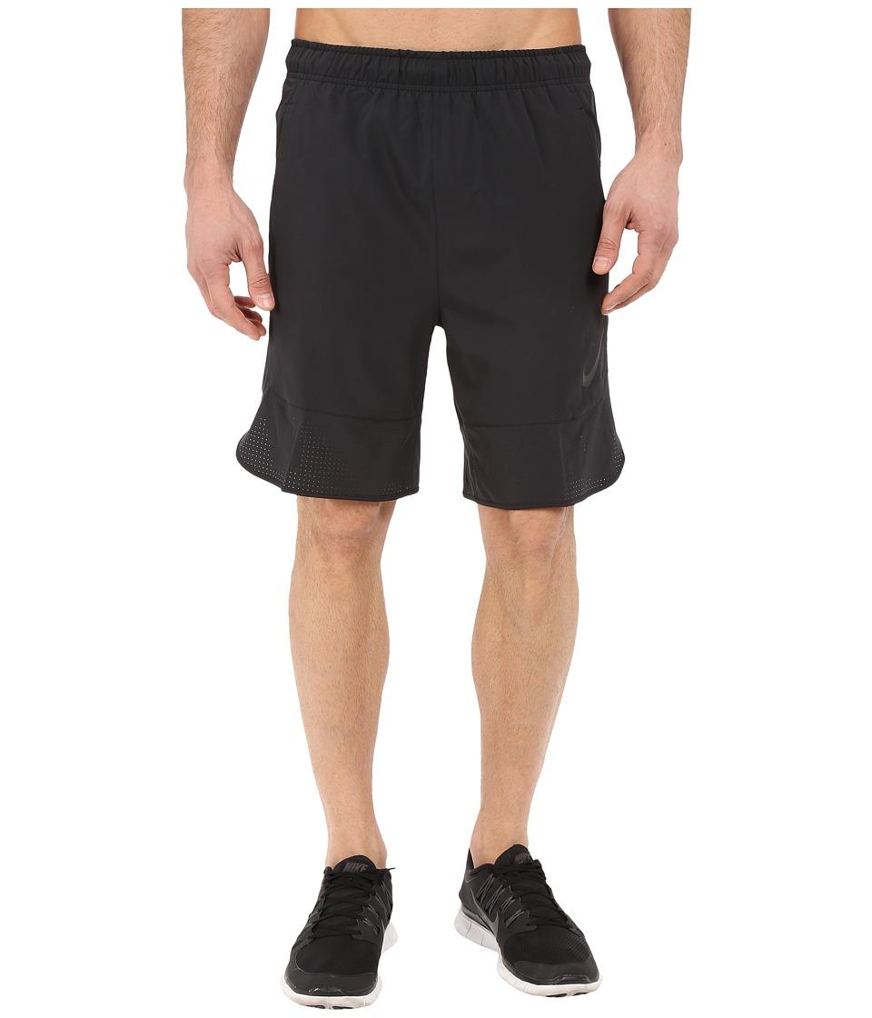 Nike - Flex 8 Shorts (Black/Black) Men's Shorts