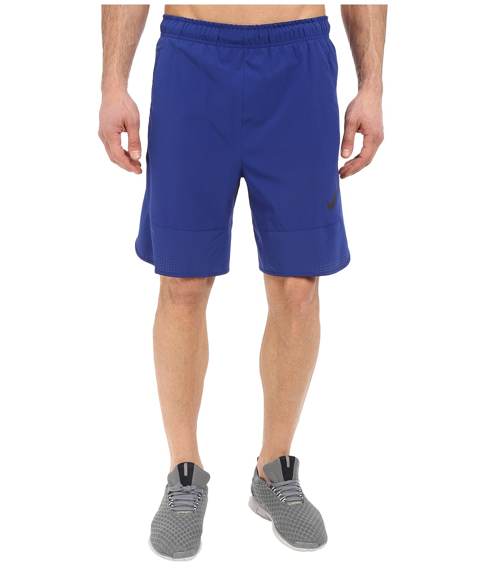Nike Flex 8 Shorts (Deep Royal Blue/Black) Men