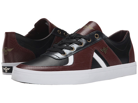 Creative Recreation - Milano 2 XVI (Merlot/Black/Snake) Men's Shoes