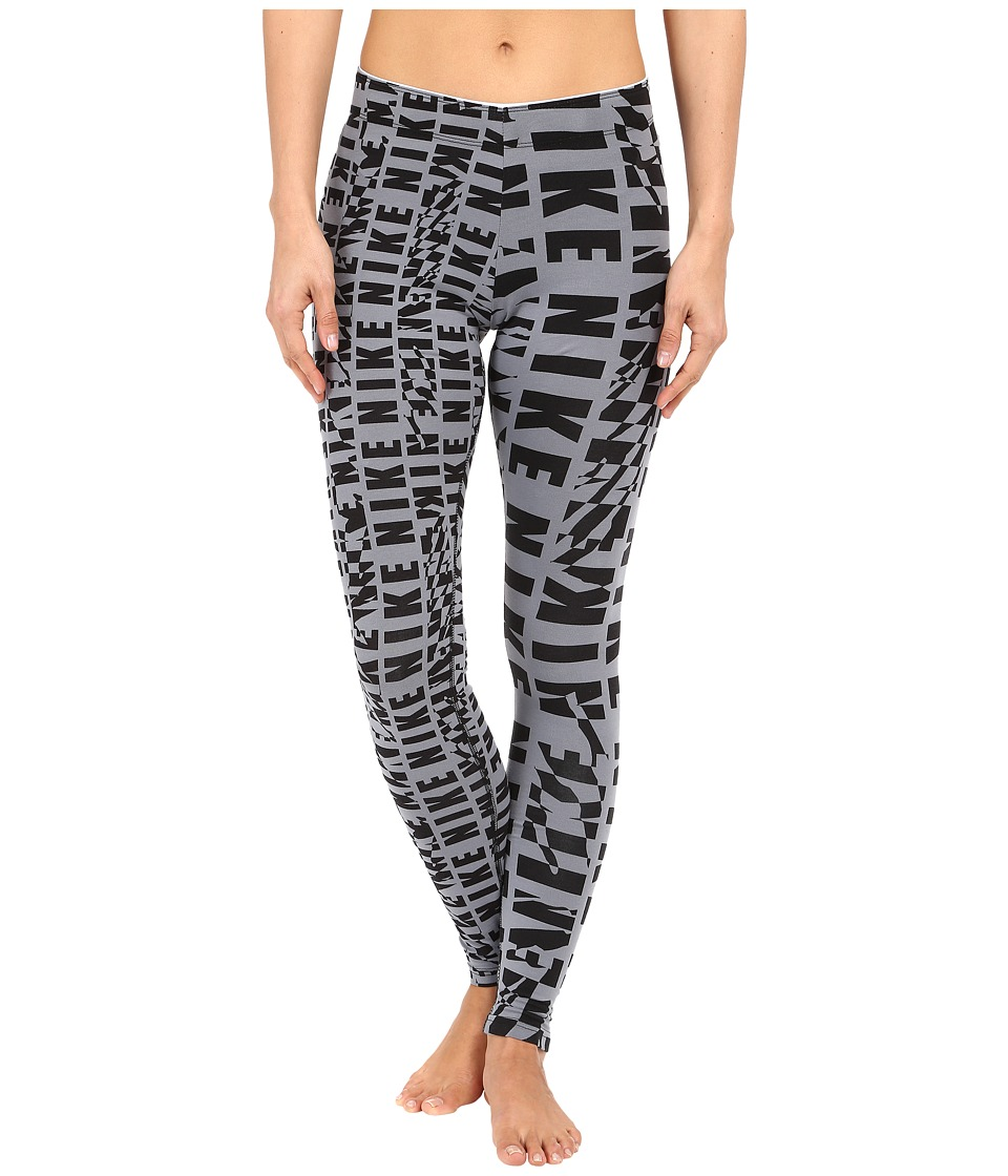 Nike - Club Leggings (Cool Grey/Cool Grey/Black) Women's Casual Pants