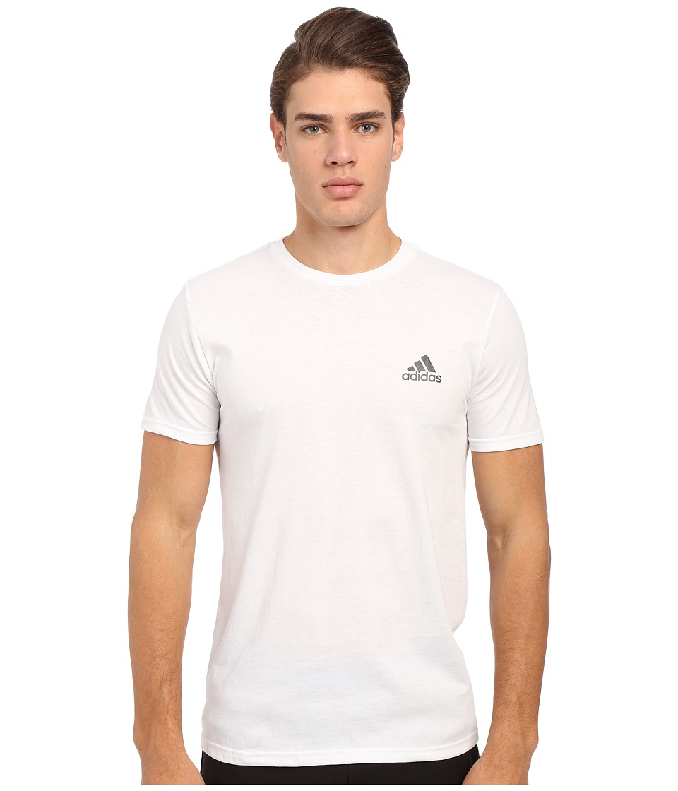 adidas go to performance short sleeve crew tee dealtrend. Black Bedroom Furniture Sets. Home Design Ideas