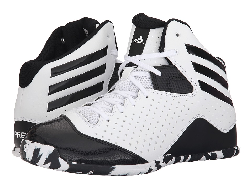 adidas - NXT LVL SPD IV (White/Black) Men's Basketball Shoes