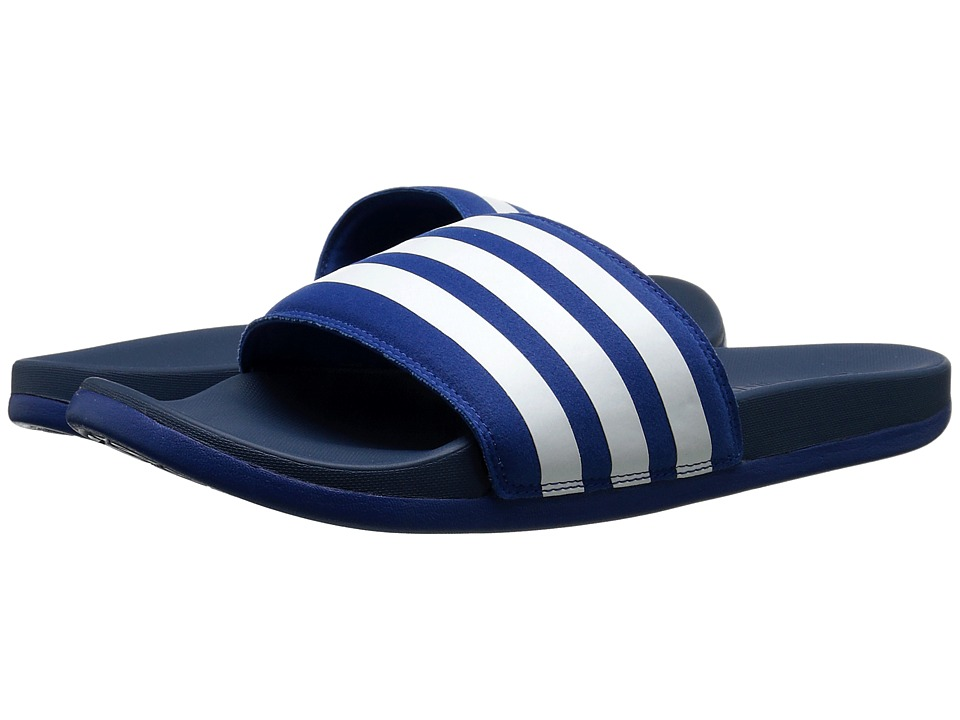 adidas - adilette SC Plus M (EQT Blue/White) Men's Slide Shoes
