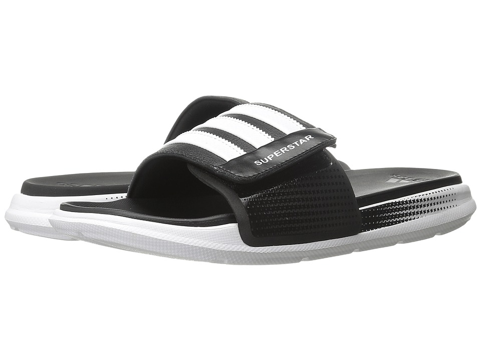adidas - Superstar 4G M (Black/White) Men's Slide Shoes