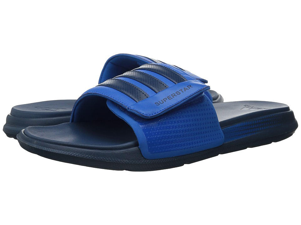 adidas - Superstar 4G M (Mineral Blue/Shock Blue) Men's Slide Shoes
