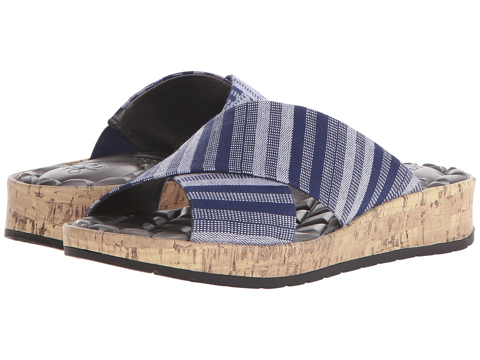 LifeStride - Positive (Navy Urban Fabric) Women's 1-2 inch heel Shoes