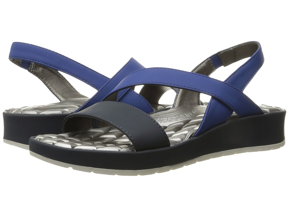 LifeStride - Progress (Classic Navy Superbuck) Women's Sandals