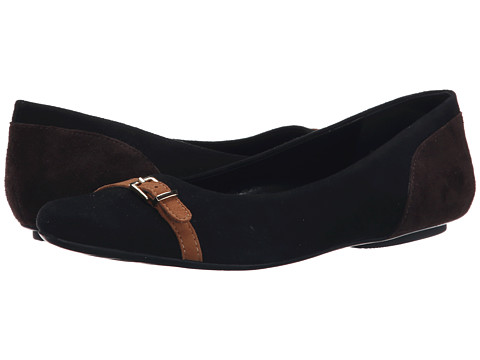 Vaneli - Siesta (Black Suede) Women's Slip on Shoes