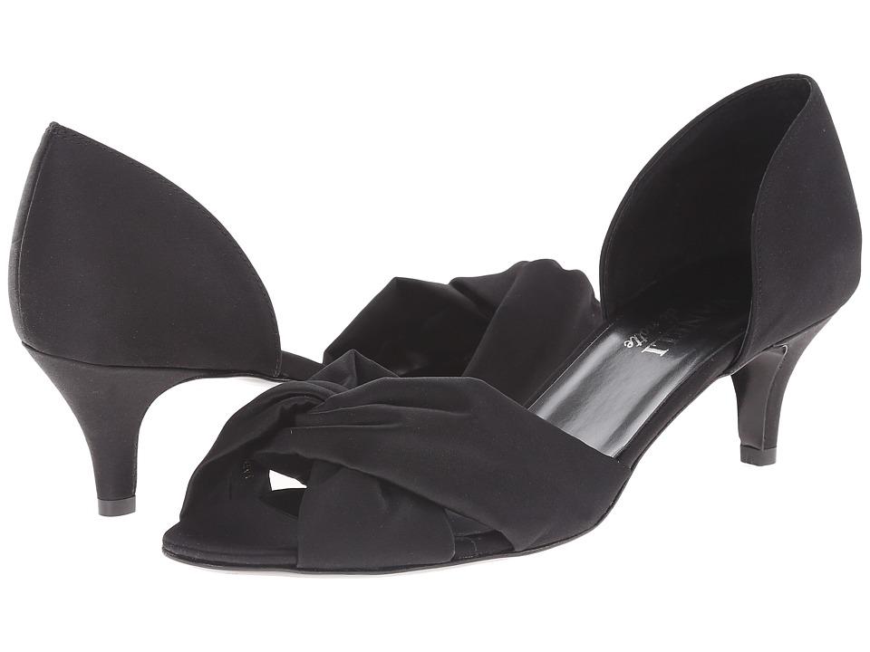 Vaneli - Ulma (Black Satin) Women's Shoes