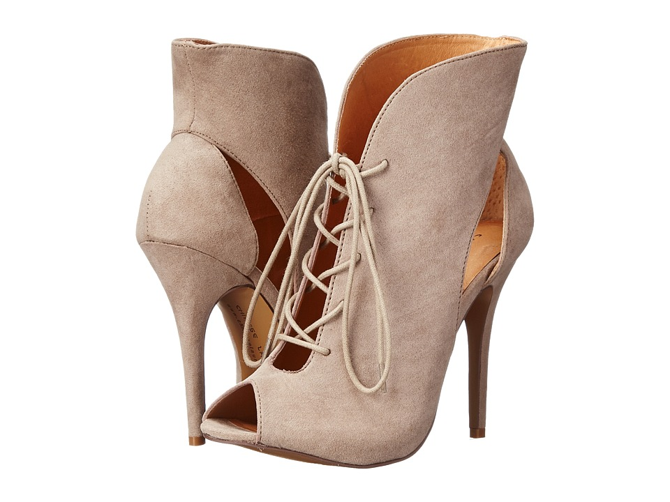 Chinese Laundry - Julius (Taupe Micro Suede) High Heels