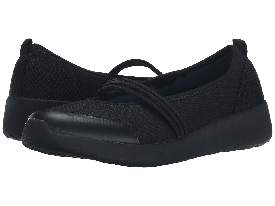 Easy Spirit - Falken (Black Multi Fabric) Women's Shoes