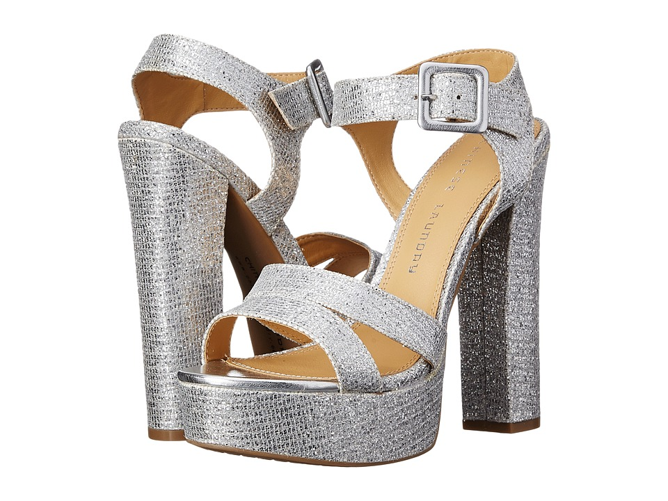 Chinese Laundry - Allspice Platform Sandal (Silver Glitter) High Heels