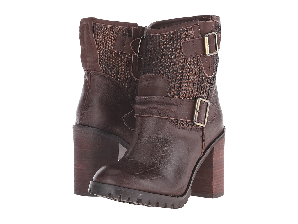 Chinese Laundry - Leafy (Brown/Bronze Leather) Women's Pull-on Boots