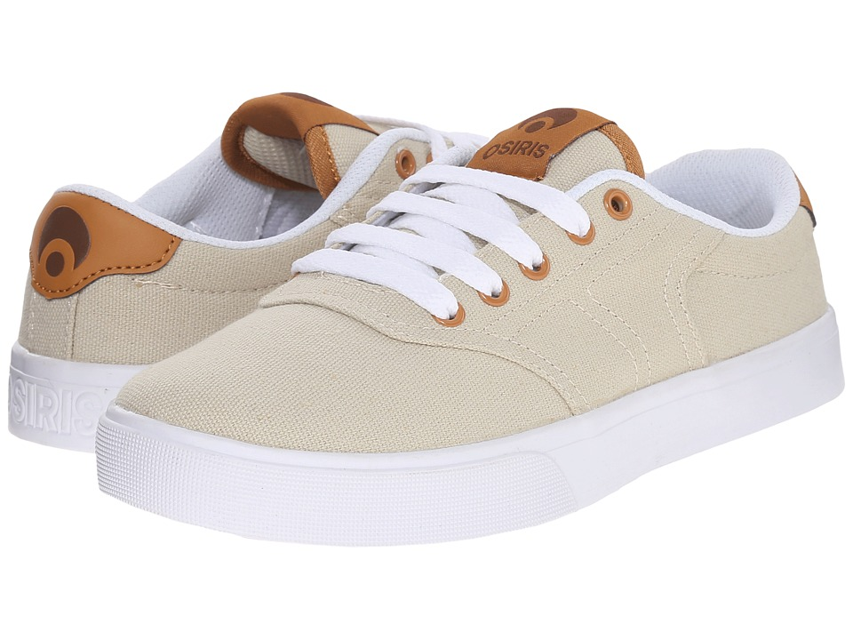 Osiris - Duster (Tan/White) Men's Skate Shoes
