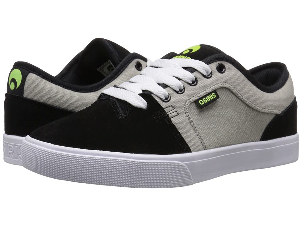 Osiris - Decay (Grey/Black) Men's Skate Shoes